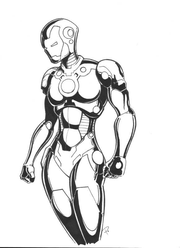 Pepper Potts In Shell by theEvilTwin