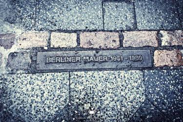 Berliner Mauer - 1961-1989 by LoganX78