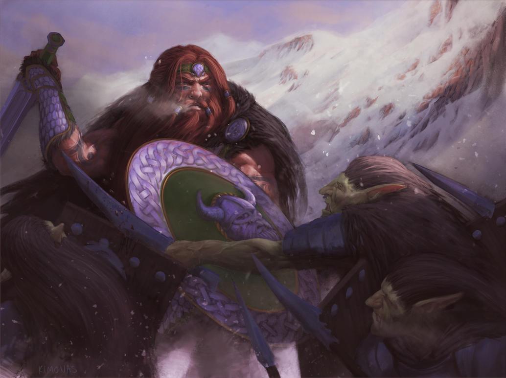 Wrath of a Dwarf by Kimonas