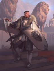 Lion Temple Guard