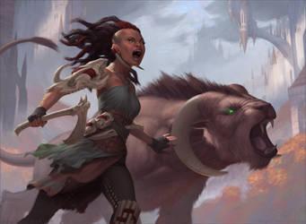 Grull Beastmaster by Kimonas