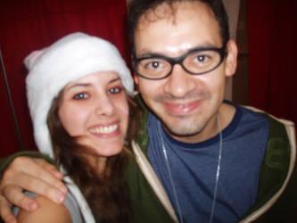 Me and Humberto Ramos