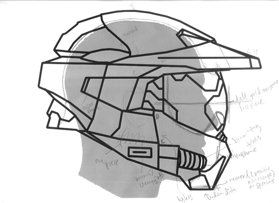 Master Chief Helmet Project By No Named One On Deviantart