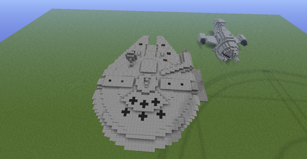 Millenium Falcon and Serenity 1:1 from the