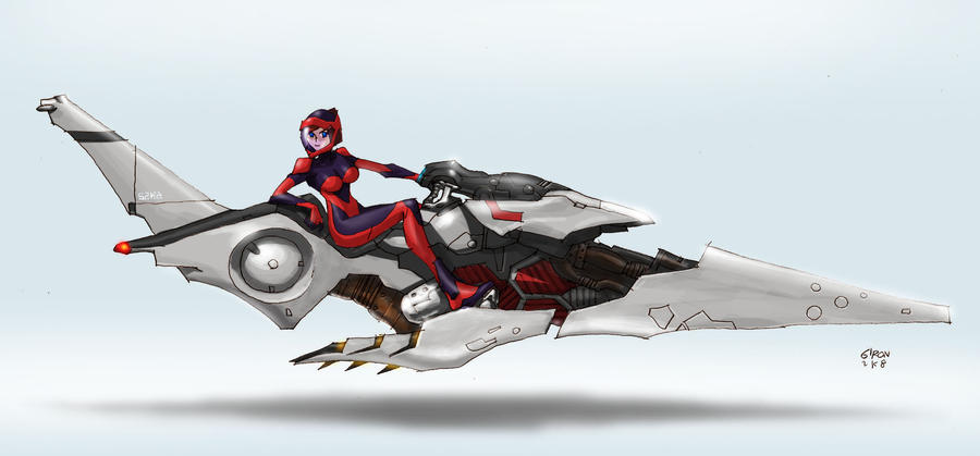 S2ka Hover Bike By S2ka On Deviantart