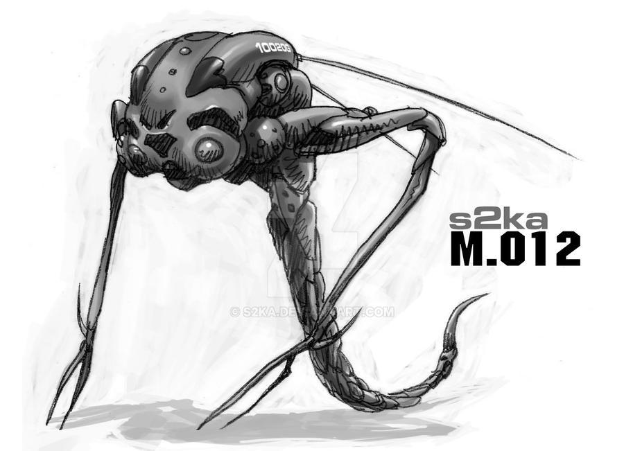 Mech design 012 by s2ka