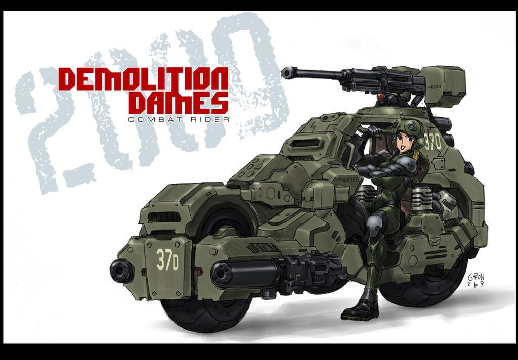 Combat Rider by s2ka
