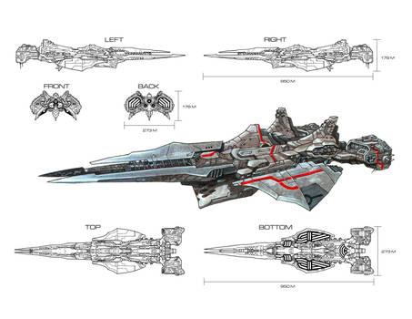 Tiamat_battleship by s2ka