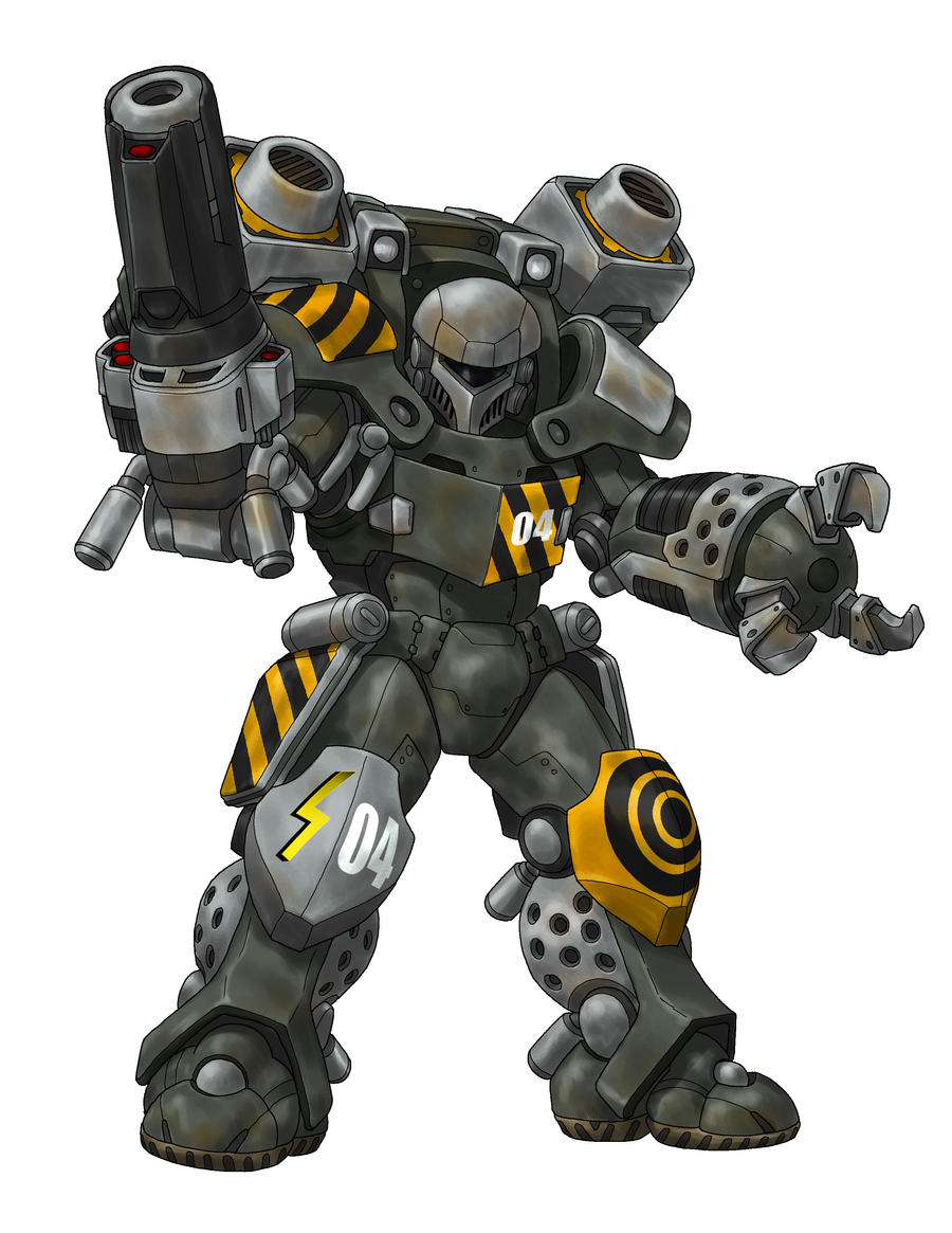 Longinus_Battle_Armor by s2ka