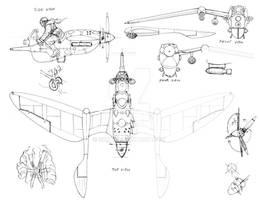 British ultralight design sketch