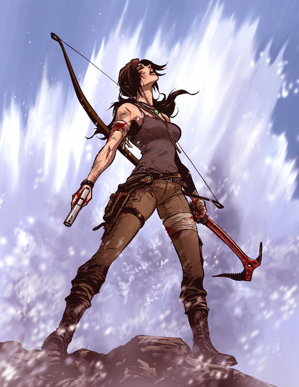 Tomb Raider Reborn: Crashing waves by s2ka