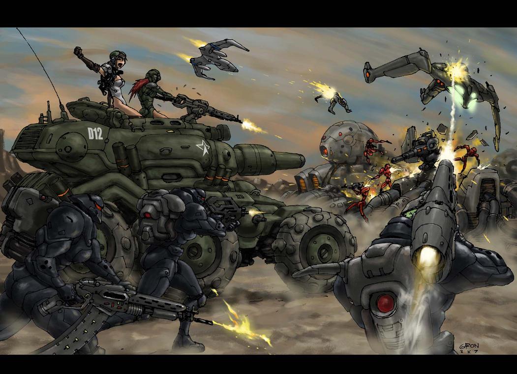 The Assault by s2ka