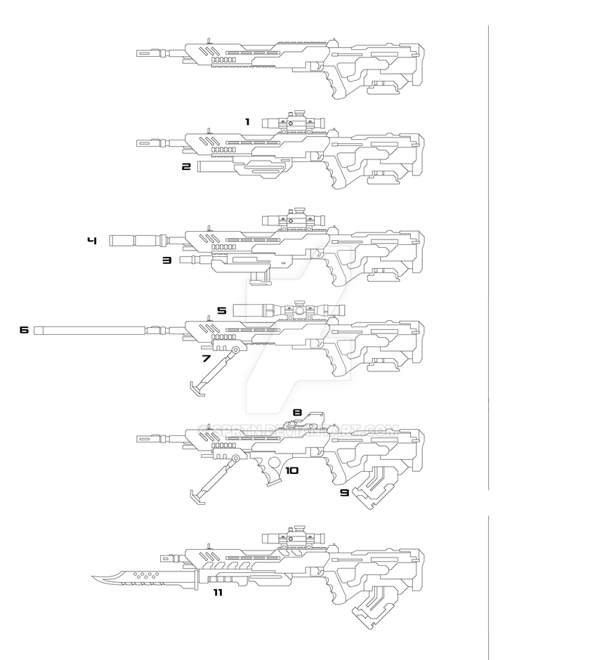 Combat Rifle Mod System by SPRTN