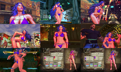 Street Fighter x Tekken Poison Bikini Mod by ohSwirv
