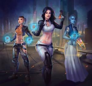 A Few Rogue Women (Mass Effect)