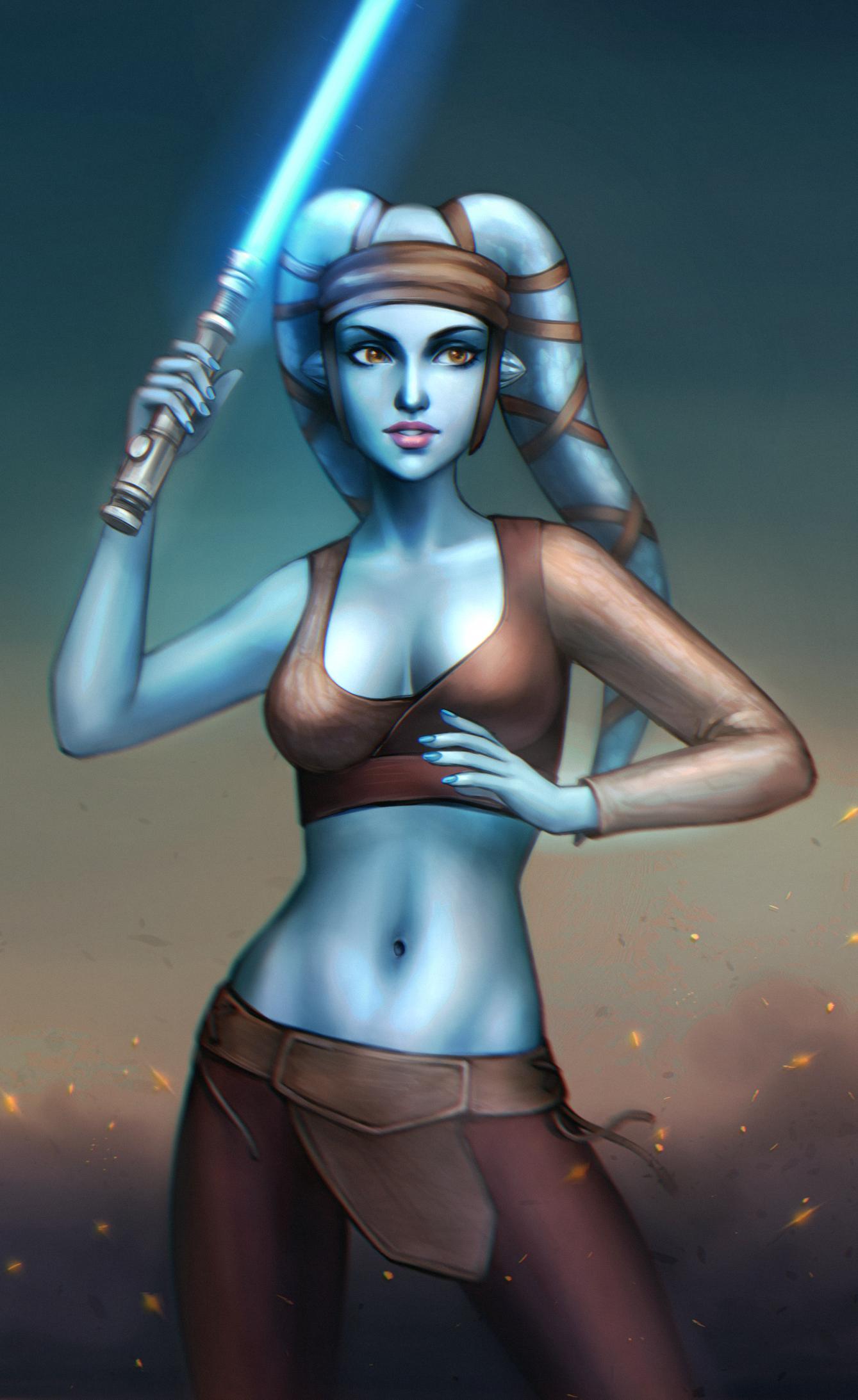 Star wars aayla secura sexy