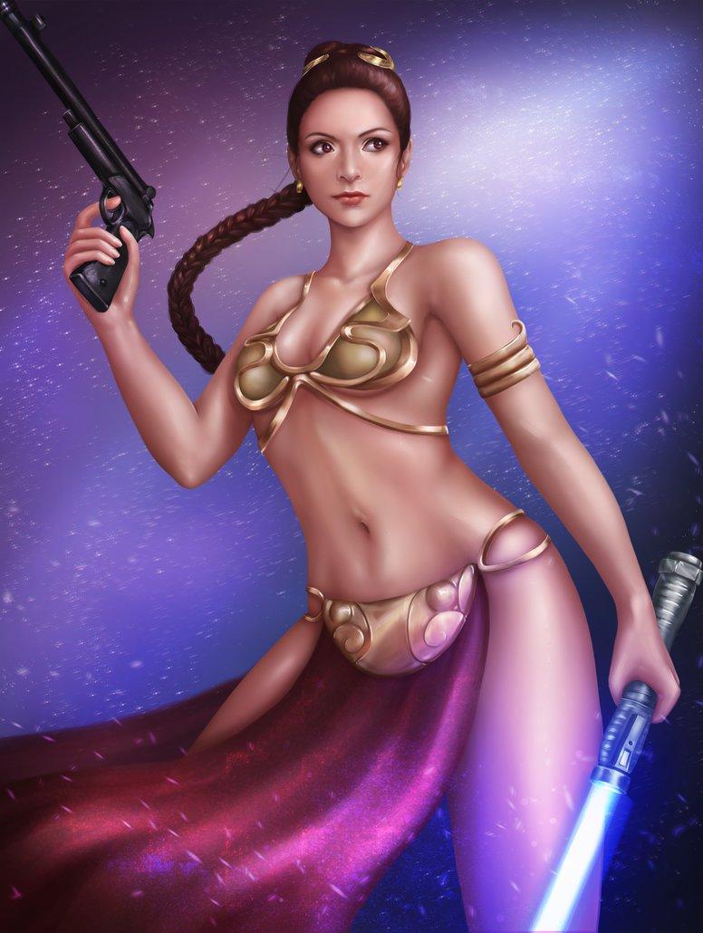 A Princess in a Metal Bikini by Mikesw1234