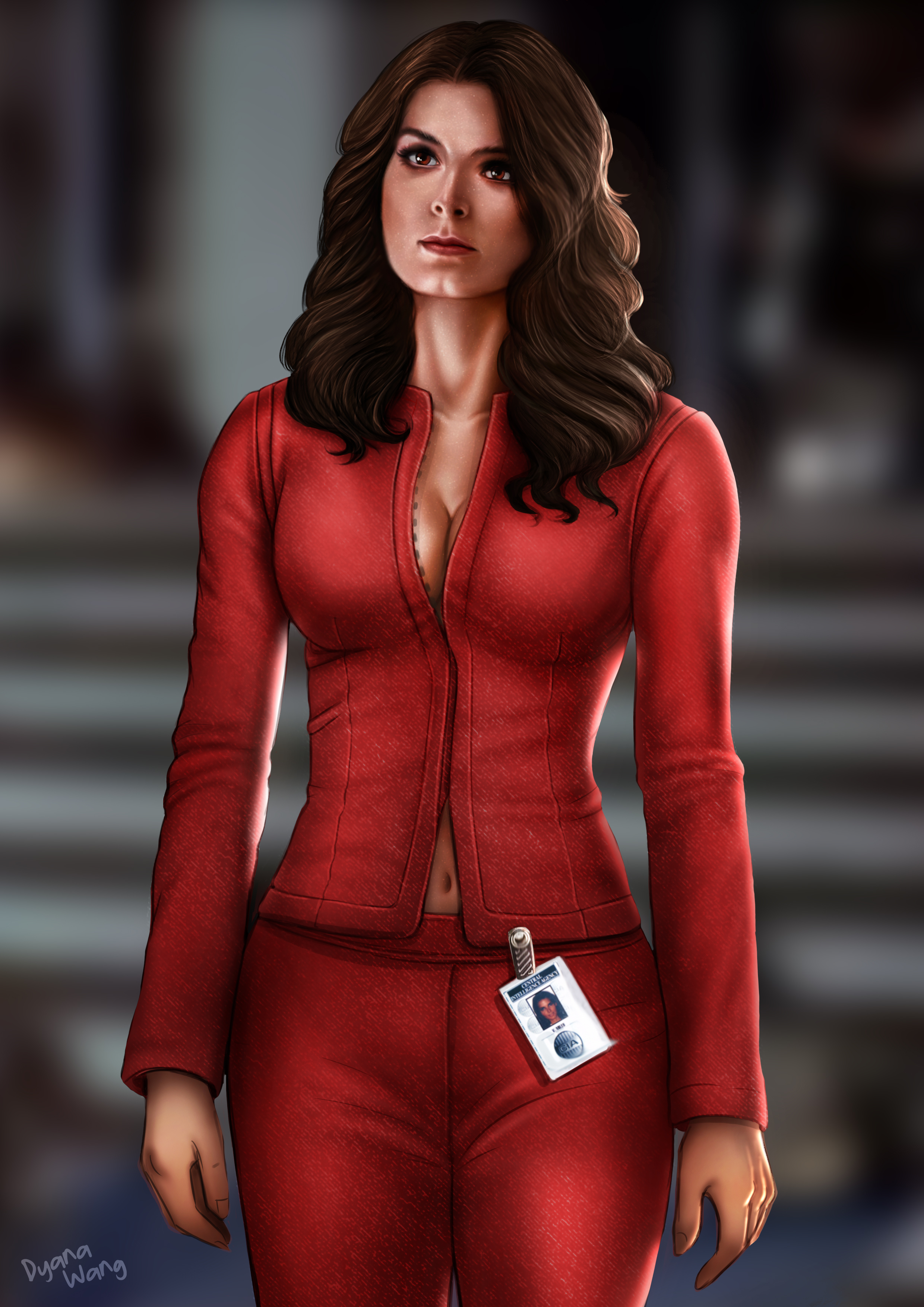 Agent In Red by Mikesw1234