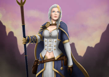 Lady Proudmoore by Mikesw1234
