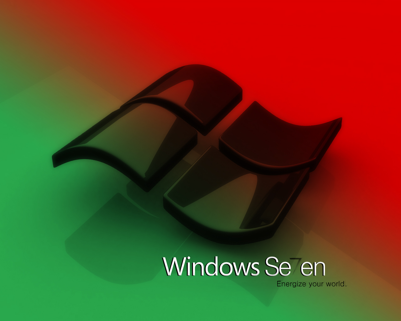 Windows seven black by Arandas