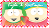 Kyle and Cartman by NightCapLover