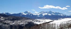 Snowy Mountains (Widescreen)