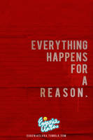 Every Thing Happens For A R. by eugeniaclara