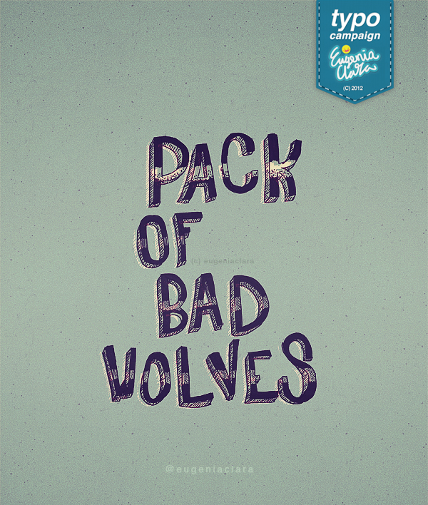 Pack Of Bad Wolves by eugeniaclara
