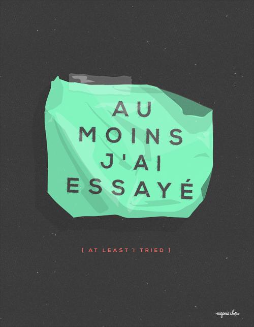 Au Moins by eugeniaclara