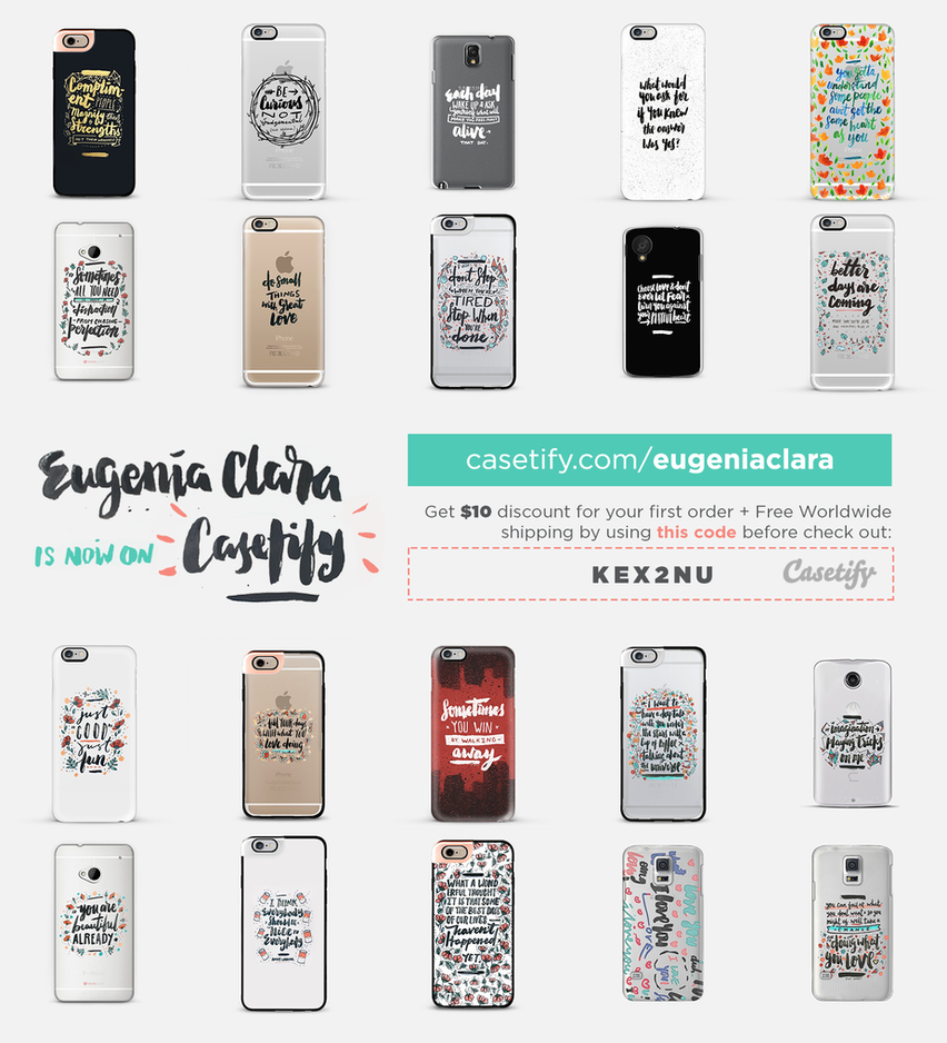 eugeniaclara at Casetify by eugeniaclara