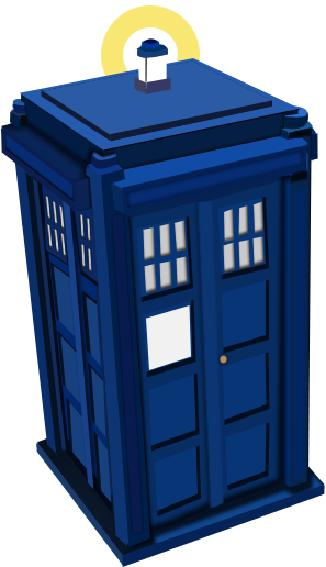 Vector TARDIS by CryptiK-NathanTardis Vector Outline