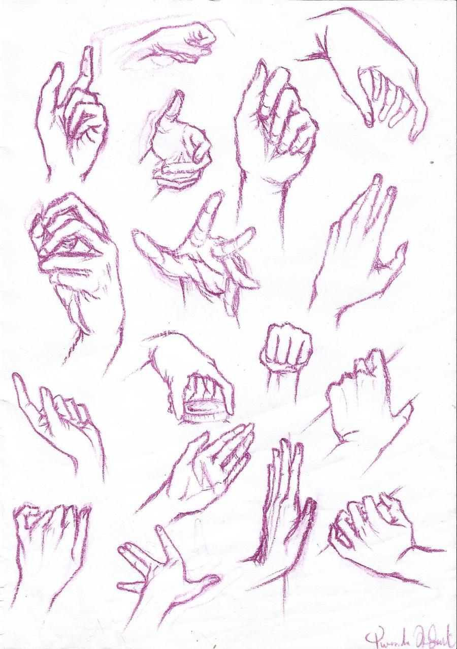 Anatomy Study: HANDS by YuuyuMori on DeviantArt