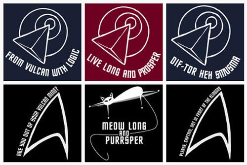 Star Trek Tees by TheHalfBloodPierrot