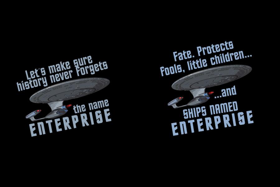 Enterprise Tees by TheHalfBloodPierrot