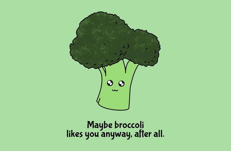 Resultado de imagen para i love broccoli