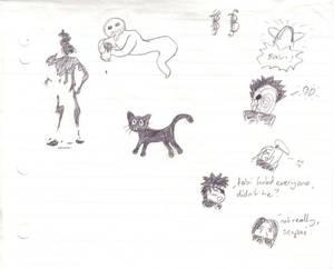 uni scribbles 2