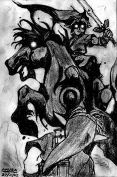 dark link +horse
