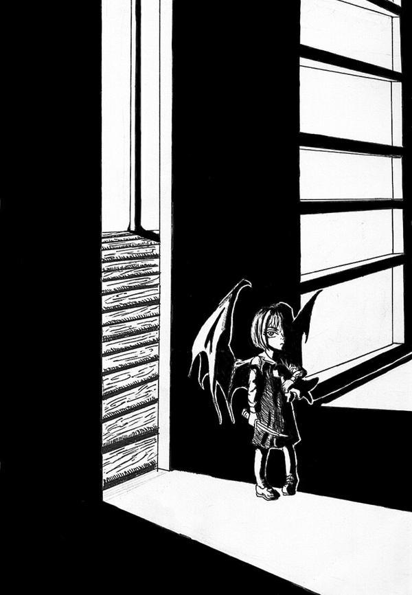 demon girl by naberus