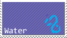 Water-lai stamp by KyuubiNight