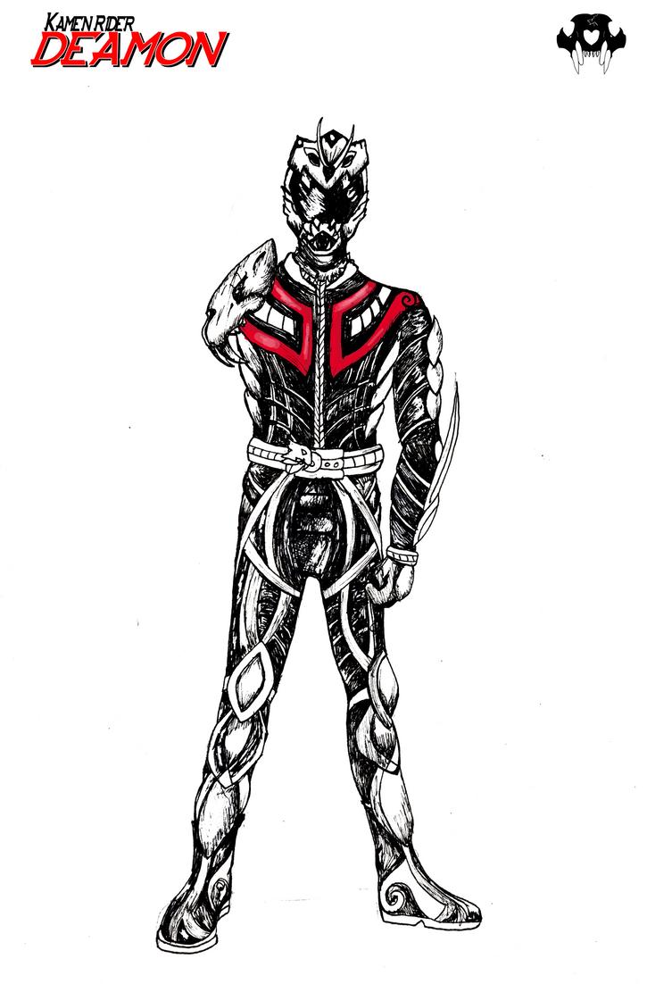 Kamen Rider Deamon (Redux) by KyuubiNight