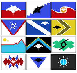 flags of Cyclonia by KyuubiNight