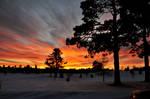 Snowscape sunset 02