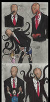 Slenderman doodles 4