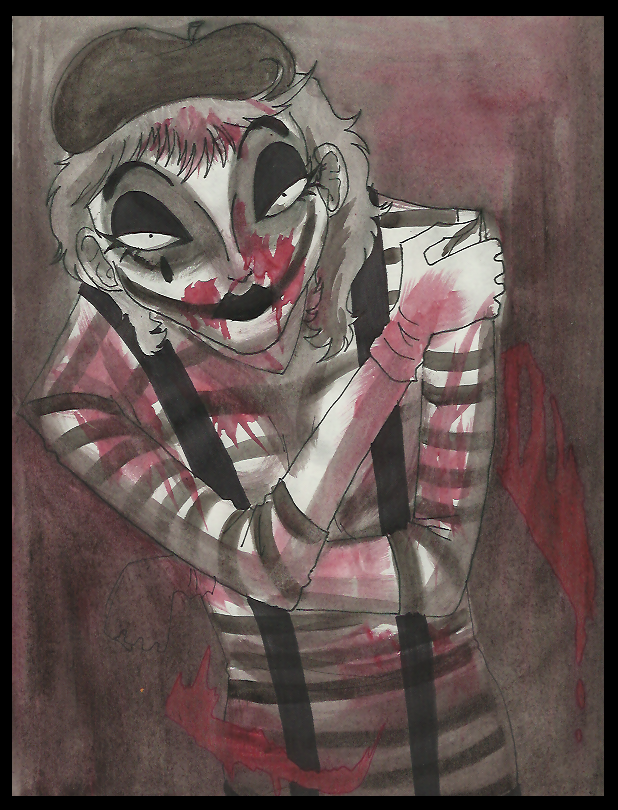 Killer Mime by Cageyshick05