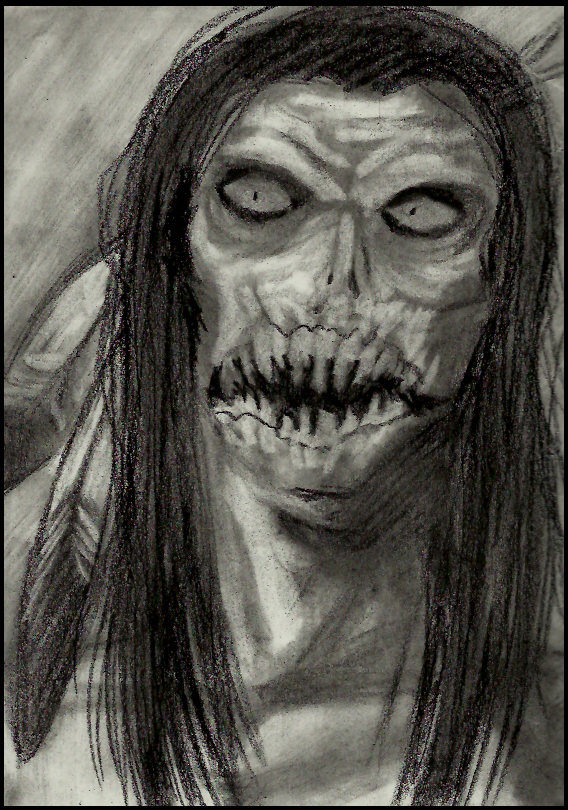 Charcoal: The windigo by Cageyshick05