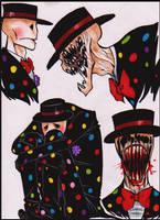 Splendorman doodles by Cageyshick05