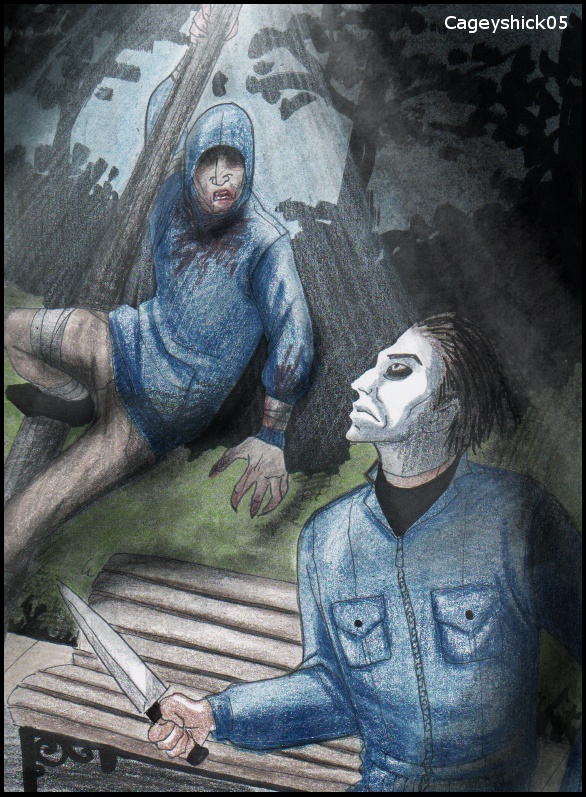 Hunter vs Michael myers by Cageyshick05