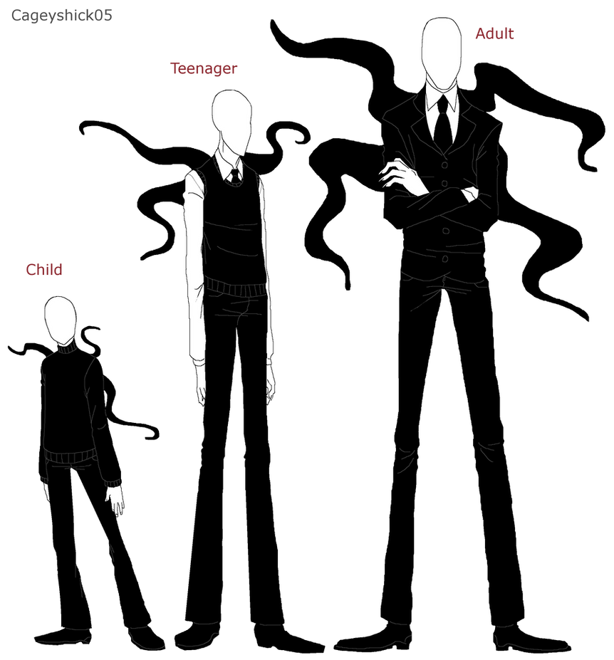 Slenderman chart by Cageyshick05