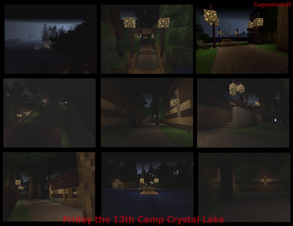 Camp Crystal Lake -Minecraft- by Cageyshick05