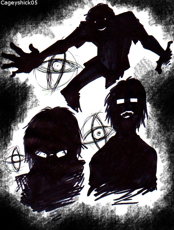 Observer and Firebrand doodles by Cageyshick05 on DeviantArt